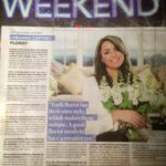 IRISH INDEPENDENT WEEKEND Magazine Article